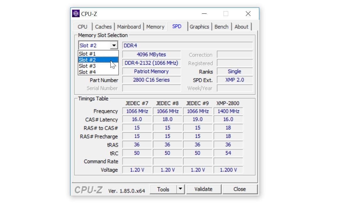 CPU-Z ile RAM Frekansı Ölçme